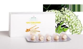 Свечи с Болиголовом и корнем лопуха «Чистоболин»10 шт.